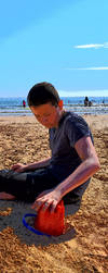 Declan at the beach by PonellaToon