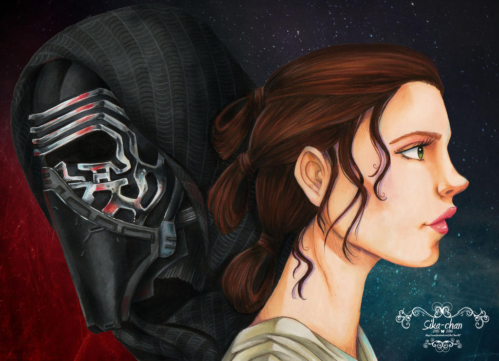 Rey VS Kylo Ren by maxicarry