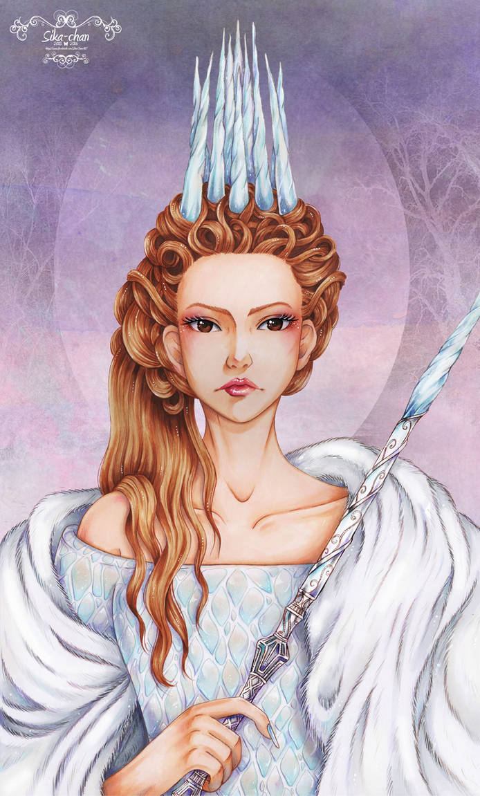 Jadis, white witch of Narnia by maxicarry