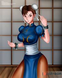 Chun Li (NSFW on Patreon) by bankaipacay
