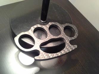 Carbon Fiber Knuckles by BlackKryptonite
