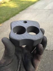 2 Finger Carbon Fiber Knuck WIP by BlackKryptonite