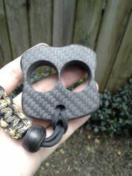 2 Finger Carbon Fiber Knuck by BlackKryptonite