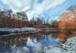 Snow at the Lagan, Minnowburn
