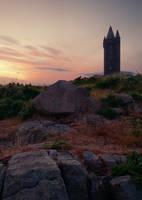 Scrabo Sunset by Gerard1972