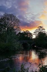 Sunrise at Drum Bridge Belfast
