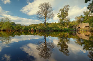 Reflections at Drum Bridge 11 by Gerard1972