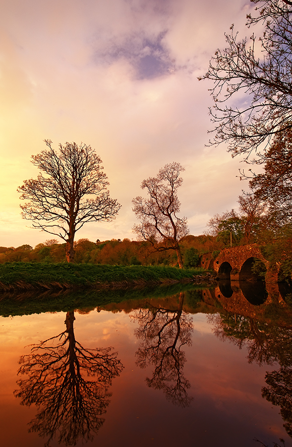 Reflections at Drum Bridge 12 by Gerard1972
