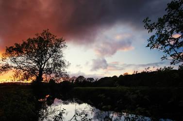 Lagan Sunset
