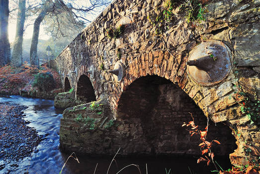 Minnowburn Bridge in Winter