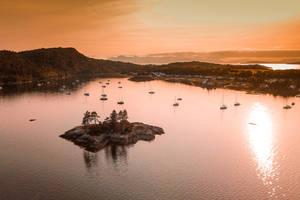 Plockton at sunset by Rajmund67