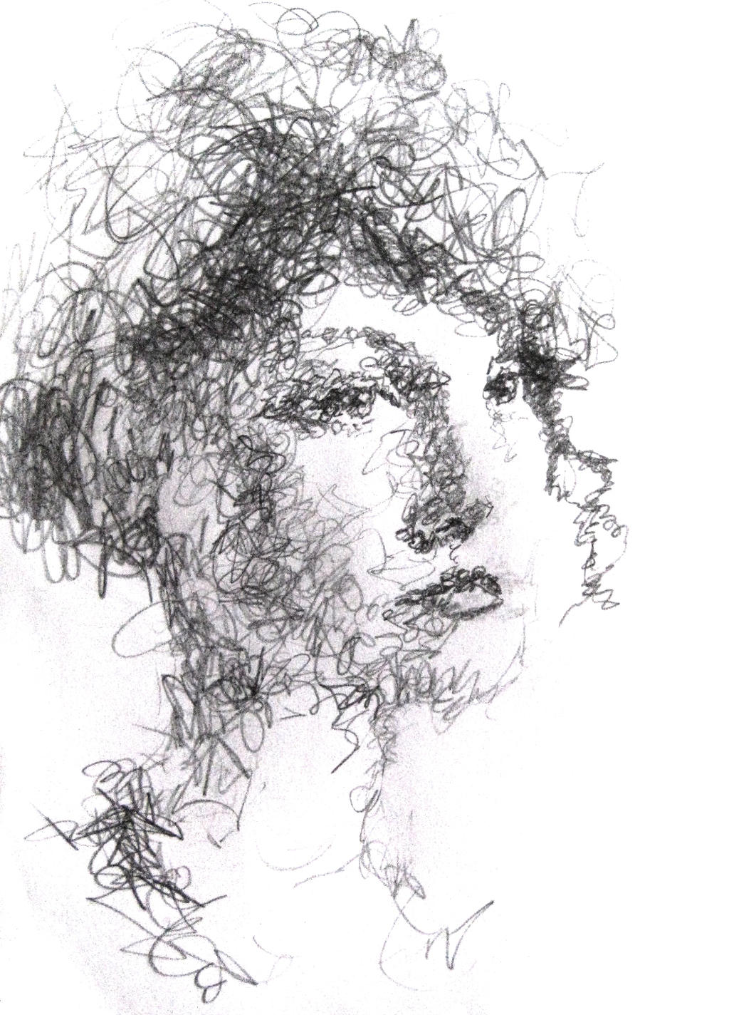 Drawing Of Scribbles : Elegant scribble by youngchristianartist on deviantart