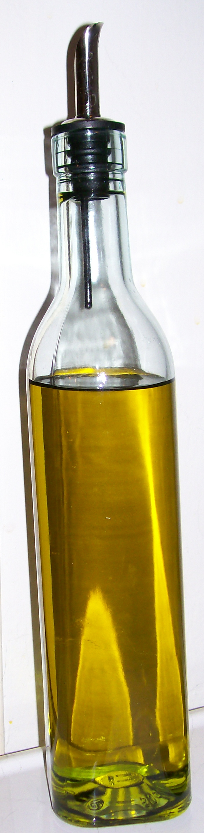 Olive oil bottle by MysticrainbowStock