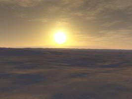 Desert Sunset2 by MysticrainbowStock