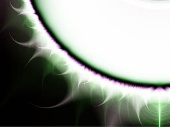 White sun Fractal Stock by MysticrainbowStock