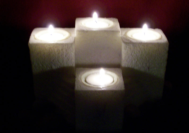 Lit Candles Stock 1 by MysticrainbowStock on DeviantArt