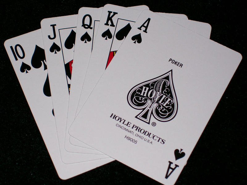 cards royal flush