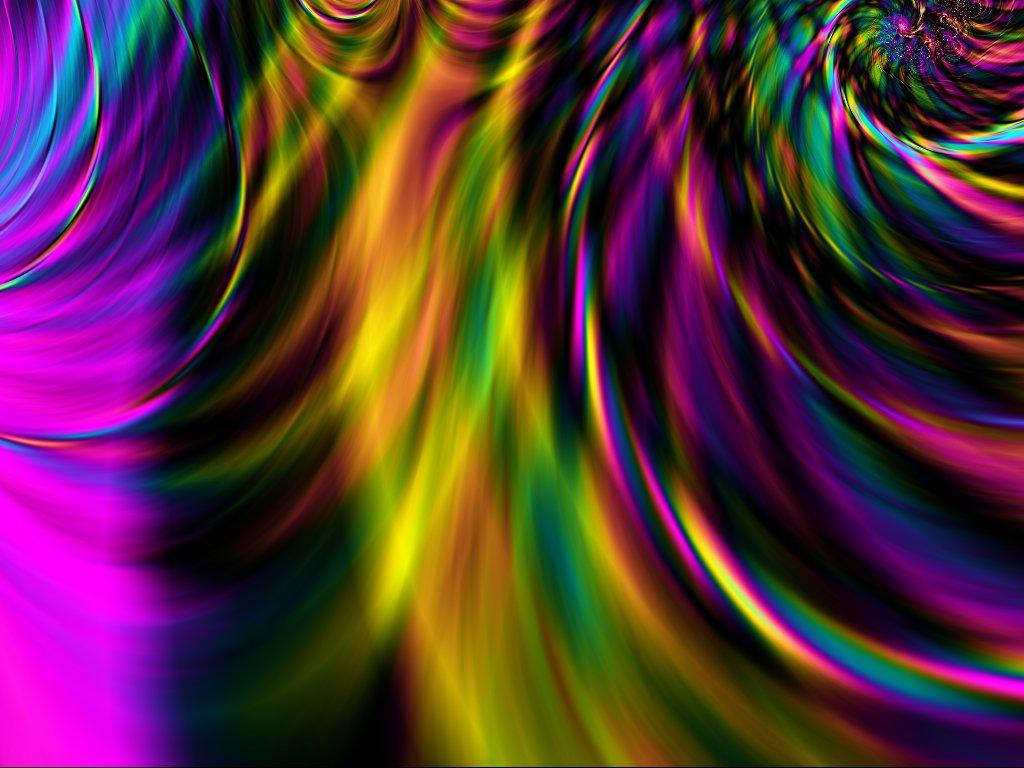 rainbow fractal cool - photo #9