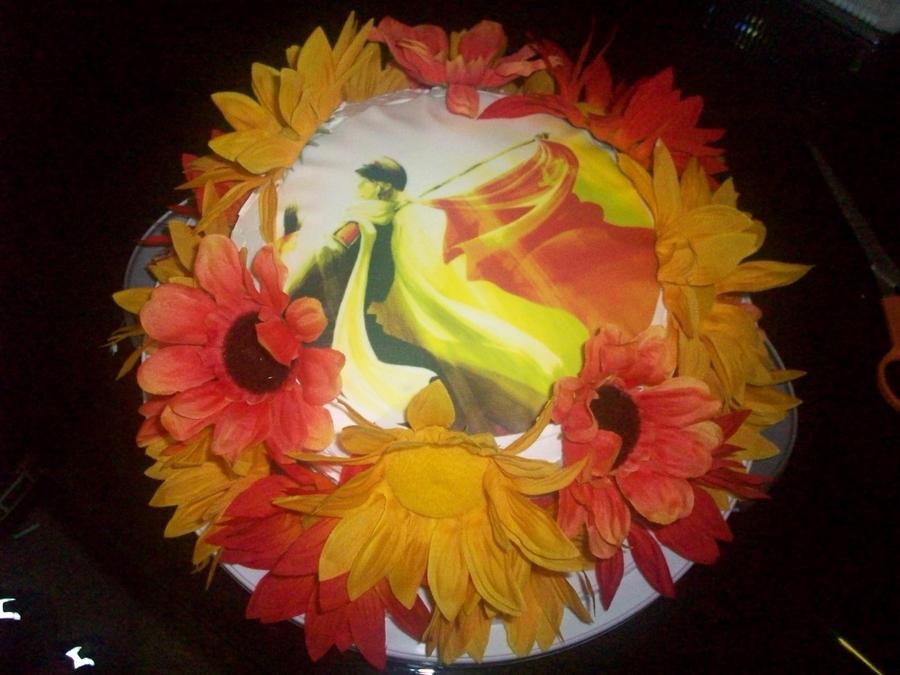 Russia Sunflower Cake by sockrocker04