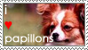 Papillon Stamp by pextrathetic