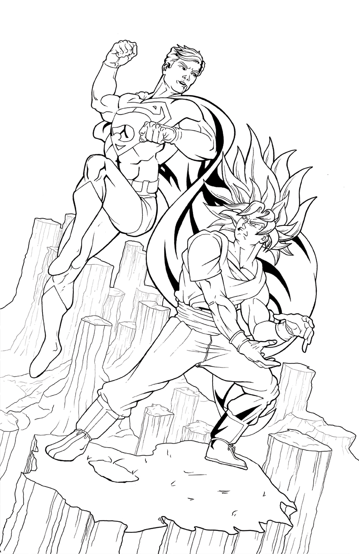 hulk vs superman coloring pages - photo#8