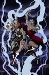 Thor Vs. Wonder Woman 2012