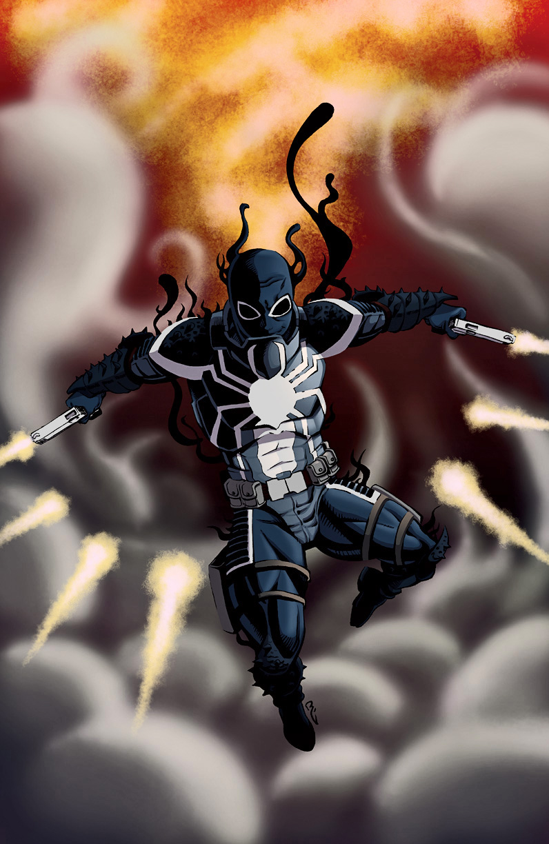 ....Flash Thompson, VENOM..... by thelearningcurv