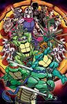 ...TMNT Pizza with everything on it...