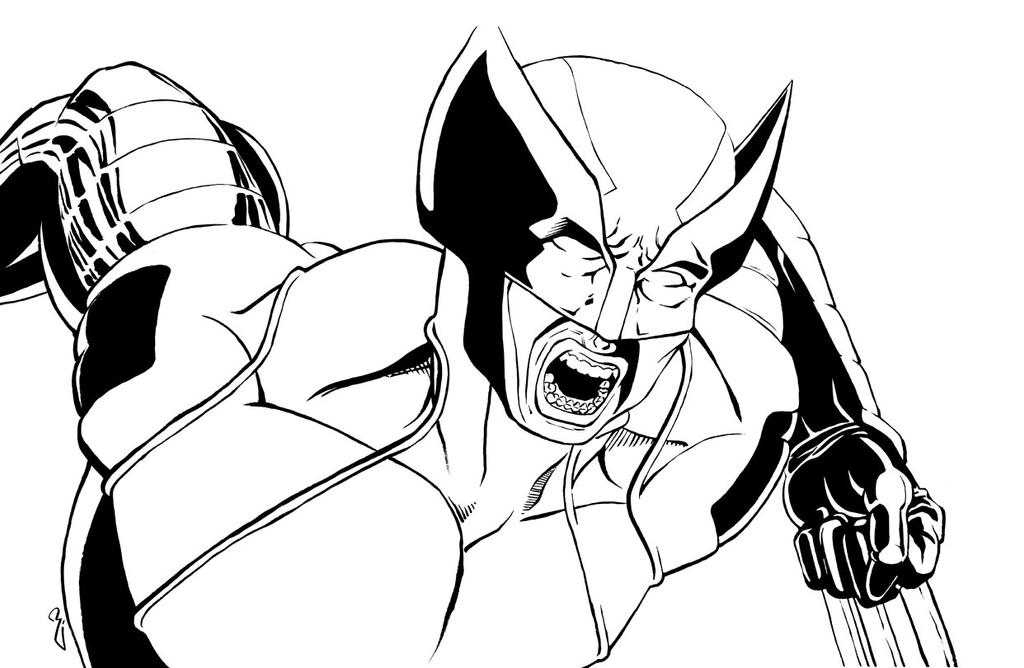 Wolverine by thelearningcurv