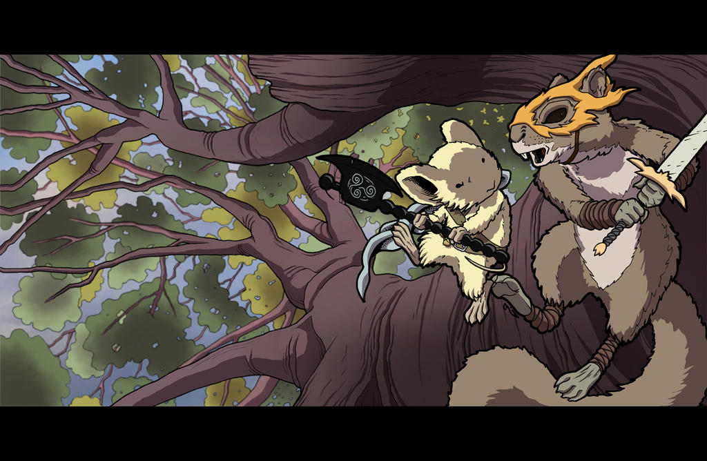 Mouseguard, Baltimore Comic Con Yearbook by thelearningcurv