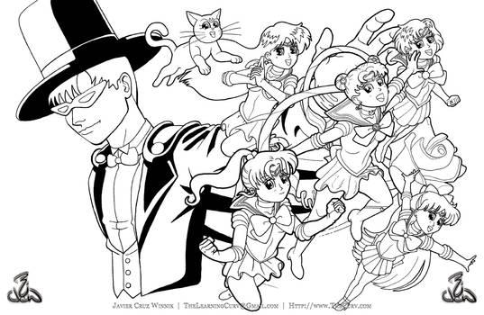 SailorMoonIllustrationInks