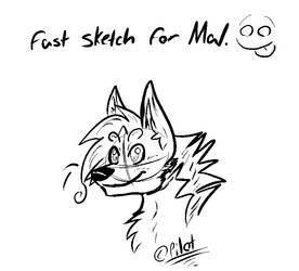 Sketch: Mal by FireStormYT