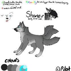 REF - Shane:  Three Tailed Wolf by FireStormYT