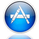 Mac App Store Reflective Icon