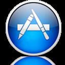 Mac App Store Reflective Icon by Zippy3576