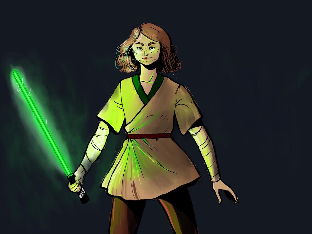 Jedi Eliza by Matsuri23