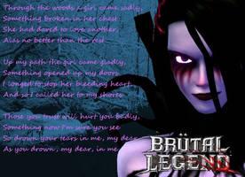 Brutal Legend: Ophelia's Poem by DUDRock