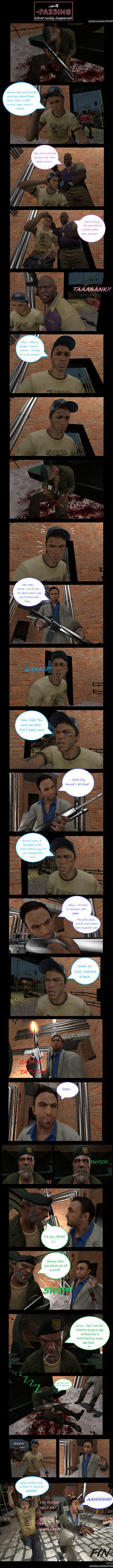 L4D2 The Passing: NO TOUCHY by Gigglejigglepuff