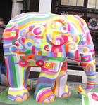 Elephant Parade in London 5 by YellowSumbarine