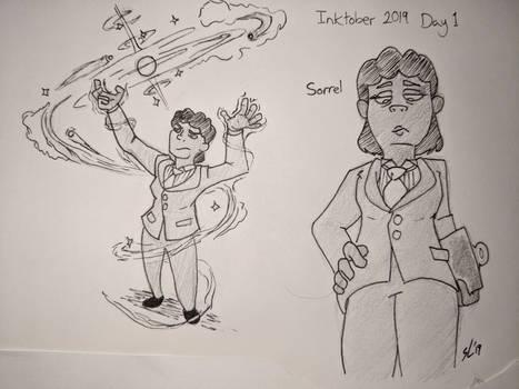 Inktober Day 1: Sorrel