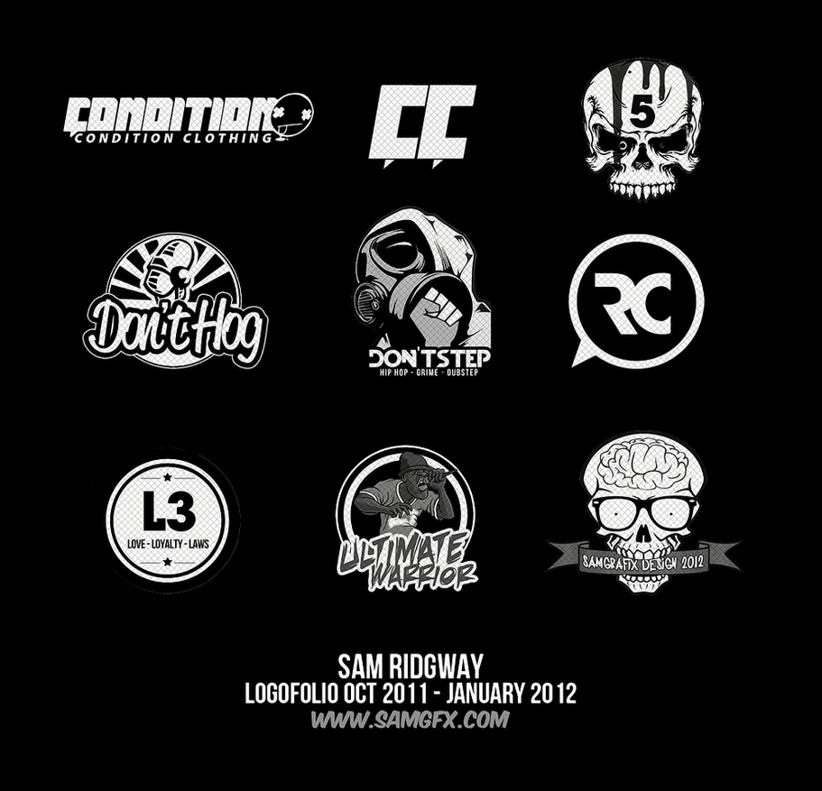 Logofolio 2012 by Shiftz