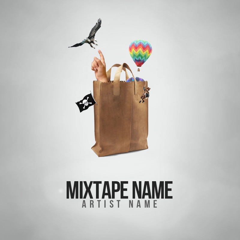 Free mixtape cover v4 psd by shiftz on deviantart for Free mixtape covers templates
