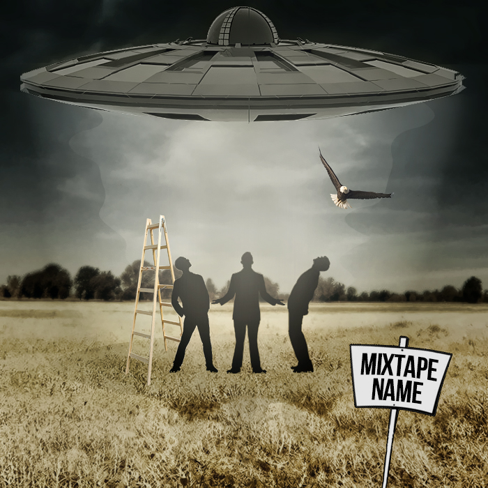 free abduction mixtape cover template psd by shiftz