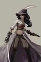 Piratess by Ginj