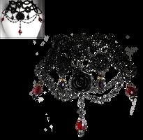 Gothic Necklace by sofijas