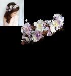 Fairy flower wreath