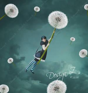 Dandelion Flight