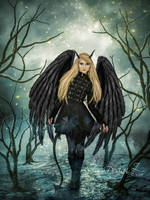 Lady of the Darkness by sofijas