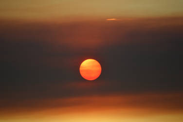 Sunset through smoke from Tyonek fire (4)