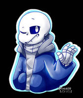 Sans The Skeleton. by PinksieHeartwishes